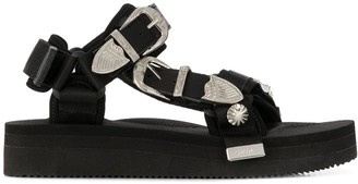Suicoke Depa buckled straps sandals