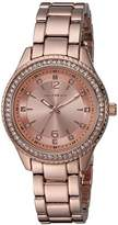Skechers Women's Quartz Metal and Alloy Casual Watch
