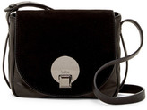 Kooba Claude Leather & Suede Saddle Bag