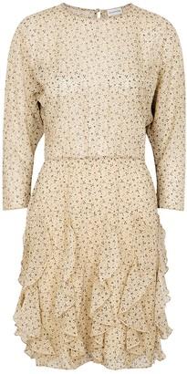 By Malene Birger Reza Printed Chiffon Mini Dress
