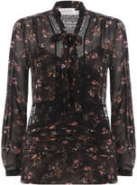 Zimmermann Radiate Tie Up Blouse