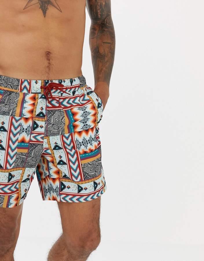 992bfbeb66019 Aztec Print Shorts Men - ShopStyle UK