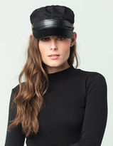 Leather Band Womens Lieutenant Cap