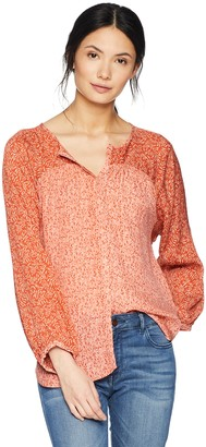 Joie Women's Jafeth Printed Silk Blouse