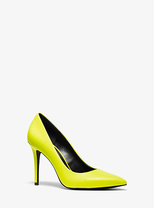 Michael Kors Claire Neon Leather Pump
