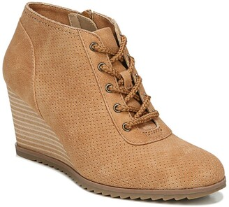 Soul Naturalizer High Five Lace-Up Wedge Bootie - Wide Width Available