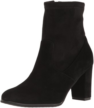 Blondo Women's Kelly Ankle Boot Black Suede 7 M US