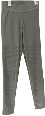 adidas Stella Mc Cartney Pour Grey Trousers for Women