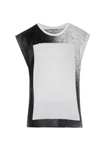 Balenciaga Spray-print Cotton Tank Top