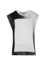 Balenciaga Spray-print Cotton Tank Top
