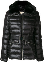 Michael Kors padded fitted jacket