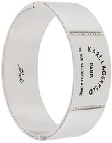 Karl Lagerfeld Paris Rue St. Guillaume large bangle