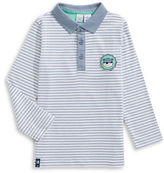 Bob Der Bar Striped Long Sleeve Polo
