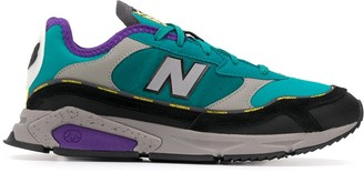 New Balance Logo Trim Panelled Sneakers