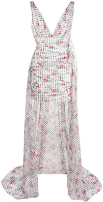 Philosophy di Lorenzo Serafini Polka Dot Ruched Dress