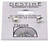 Crystallite Destine Butterfly Earrings 5mm