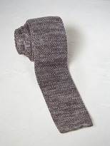 White Stuff Springer plain knit tie