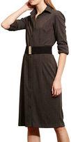 Lauren Ralph Lauren Herringbone Shirtdress