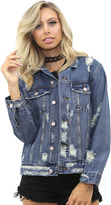 West Coast Wardrobe Harley Jacket in Denim