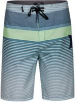 "Hurley Men's Line Up Stripe 21"" Board Shorts"