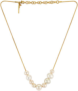 Lele Sadoughi Freshwater Mixed Pearl Necklace