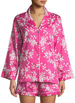 Natori Branche Cotton Shorty Pajama Set