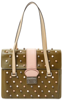 RED Valentino Beaded Satchel
