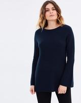 SABA Seren Bell Sleeves Knit jumper