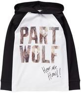 Gymboree Wolf Hoodie Tee