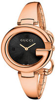 Gucci Ladies Guccissima Rose Goldtone Watch 36mm