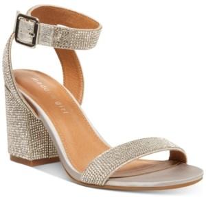 Madden-Girl Malia Rhinestone Sandals