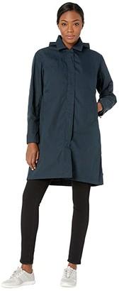 Fjallraven Travellers Jacket (Dark Navy) Women's Coat