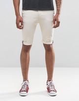 Bellfield Stretch Skinny Chino Shorts