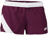 Soffe Maroon & White Stride Shorts