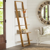 "Lark Manor 72"" Leaning Bookcase"