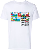 Moncler patch design T-shirt - men - Cotton - M