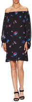 Jill Stuart Jaz Print Blouson Shift Dress