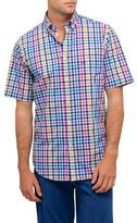 Paul & Shark S/S Bd Multi Check Shirt