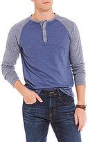Daniel Cremieux Jeans Colorblock Long-Sleeve Henley