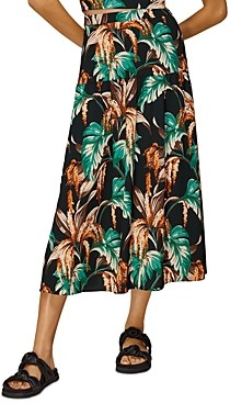 Whistles Tropical Floral Samira Skirt