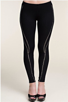 Vocal Black Studded Leggings