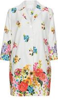 Tia Dresses Plus Size Floral print jacquard coat