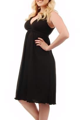 Amamante! Nursingwear Black Nursing Gown
