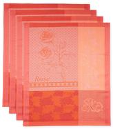 Garnier Thiebaut Rose Kitchen Towels (Set of 4)