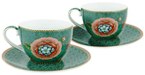 Pip Studio Spring To Life Cup & Saucer, Set of 2