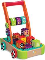 Infantino Natural Wood Busy Builder Wagon Development Toys
