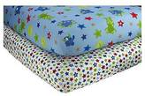 NoJo Little Bedding by Monster Babies Sheet Set (2pk)