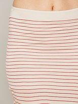 Free People Bella Luxx Jersey Asymmetrical Drape Skirt