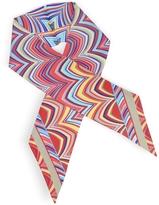 Missoni Optical Print Pure Silk Necktie Scarf