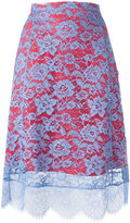 Altuzarra lace detail skirt - women - Cotton/Polyamide/Polyester - 36
